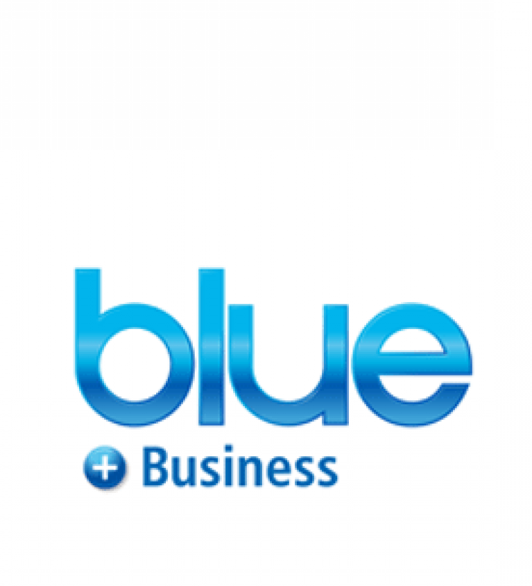 Blue for business