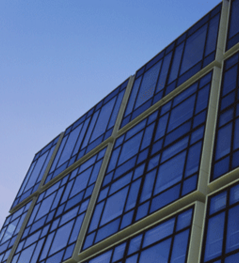 Office block windows