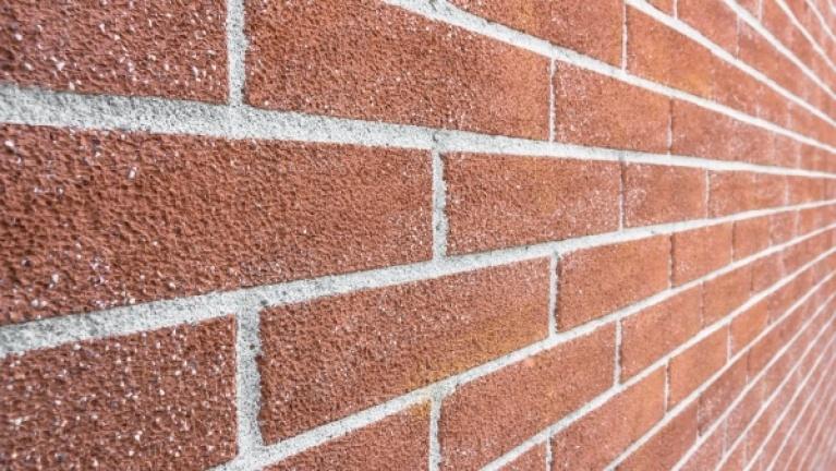 Cavity wall brick pattern example 3