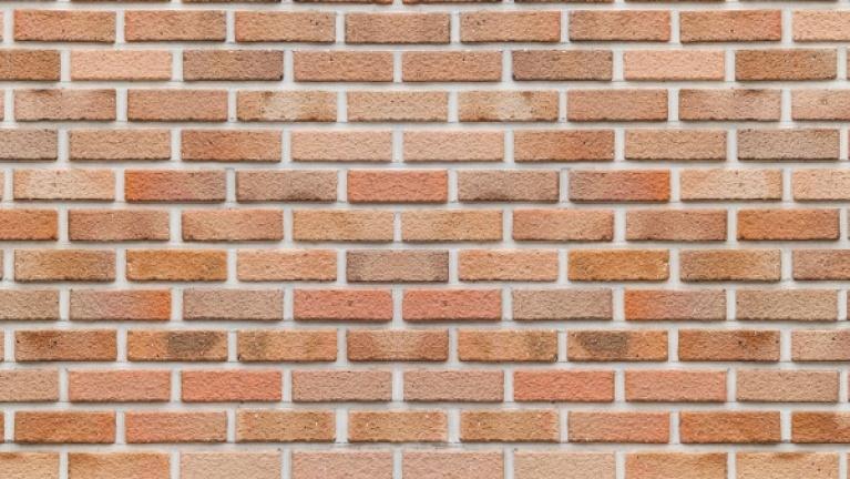 Cavity wall brick pattern example 4