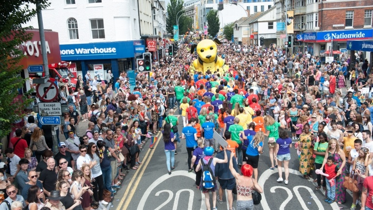 Picture from the Brighton Pride Parade 2014