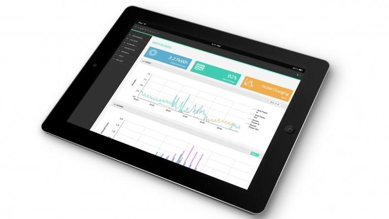 Powervault portal on iPad