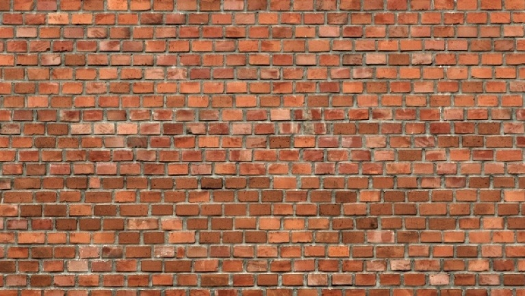 Solid wall brick pattern example 2