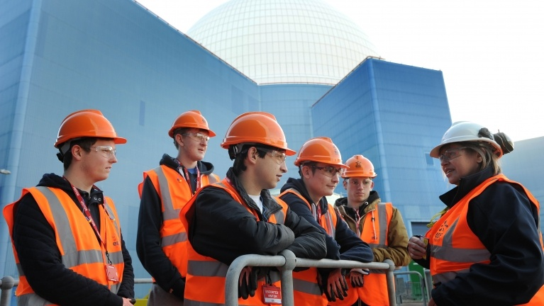 Sizewell B site tour