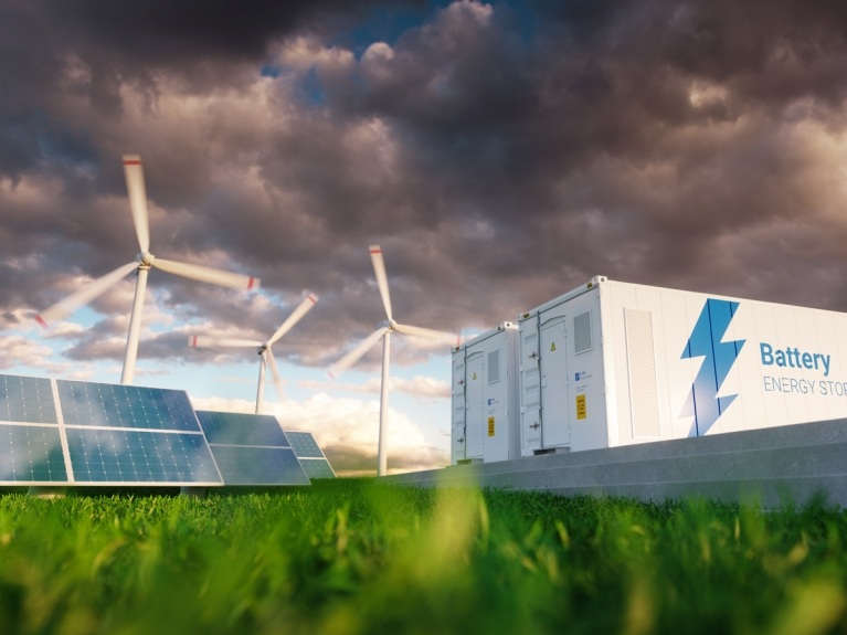 renewable electricity generation and storage concept
