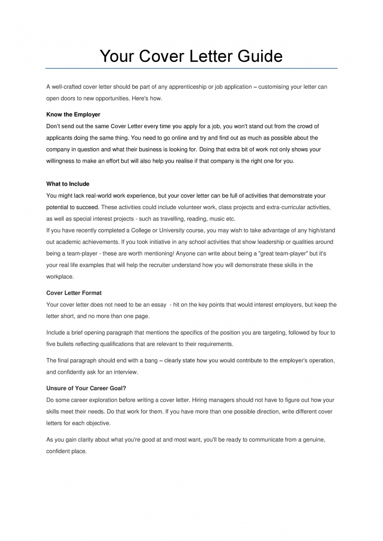 Cover Letter More Than One Page from www.edfenergy.com