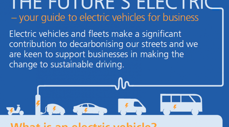 electric vehicle infographic
