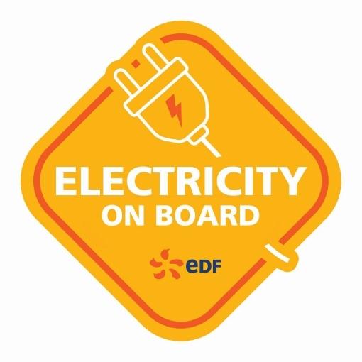 Myth busting bumper sticker - Electricity on board