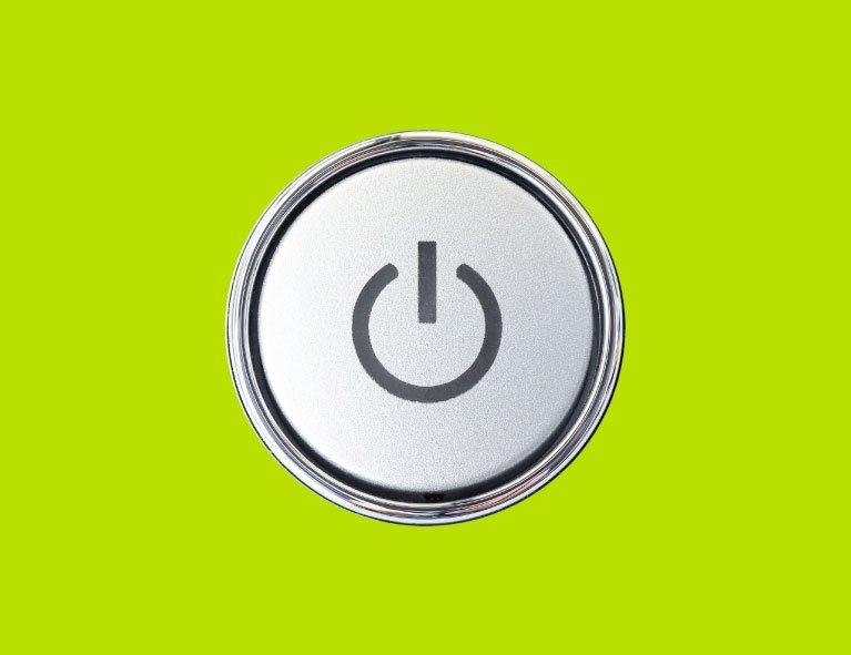 Appliance button - Energy efficient appliances