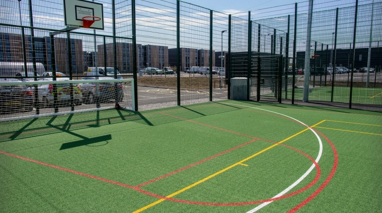 Sports pitches available at Hinkley Point C