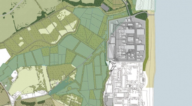 Operational masterplan for the main development site