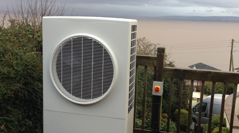 Air source heat pump outdoor unit