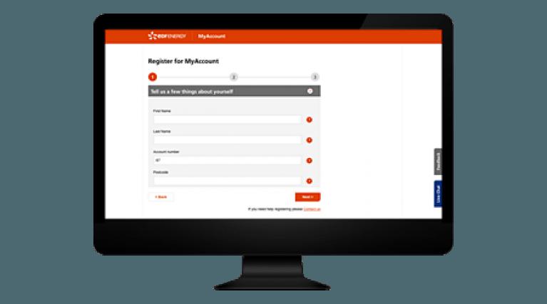 Checklist 2 - Register you EDF Energy account