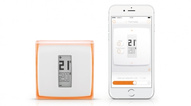 HeatSmart smart thermostat and mobile app