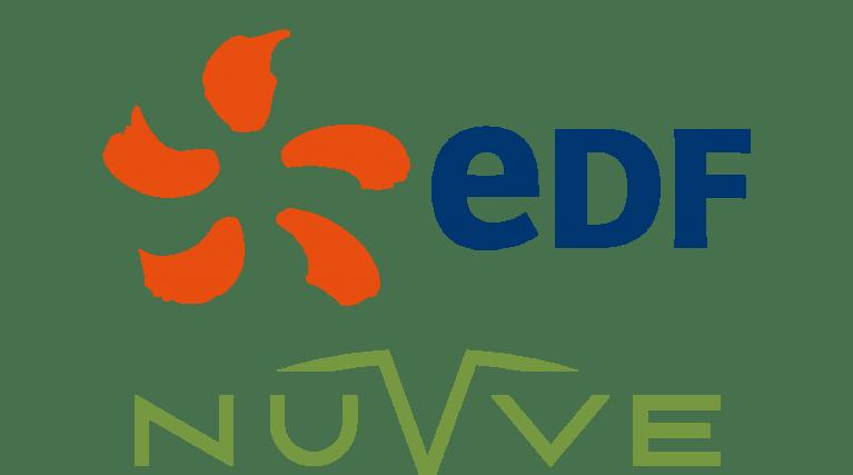 EDF and Nuvve logos