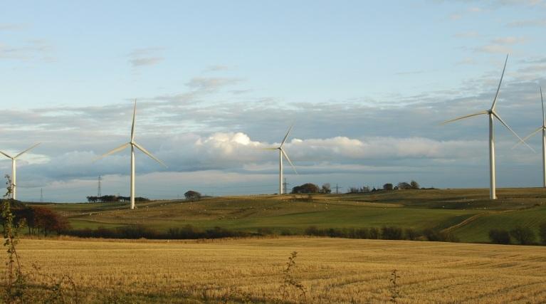 Wind Turbines in Fife