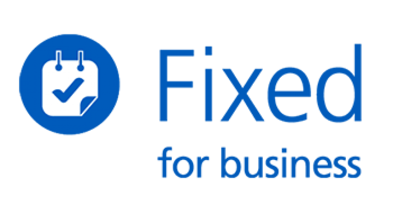 Fixed for business logo