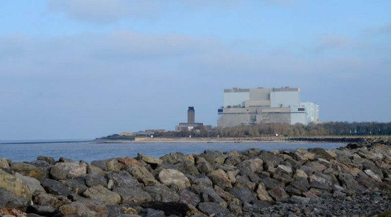 Picture of Hinkley Point B nuclear power station