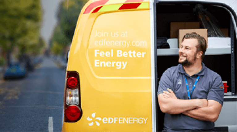 Installing your smart meter - EDF Energy smart meter engineer