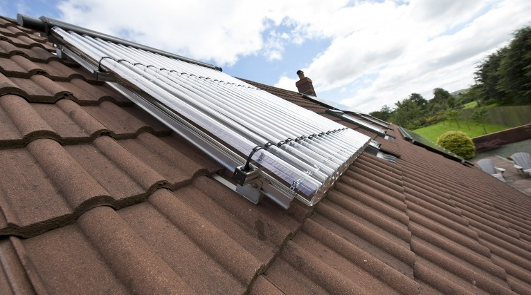 Solar Thermal (Hot water) installation