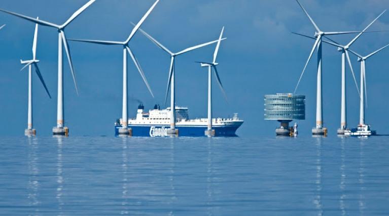 Teeside, offshore wind farm