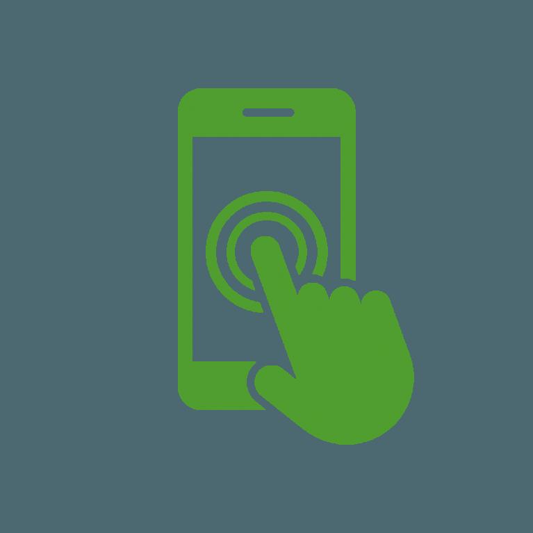 Mobile phone app icon