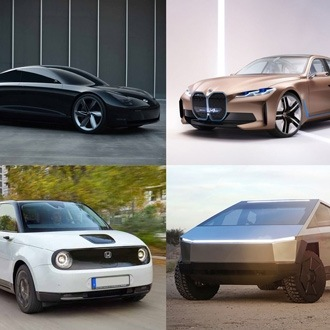electric cars of the future - four electric concept cars