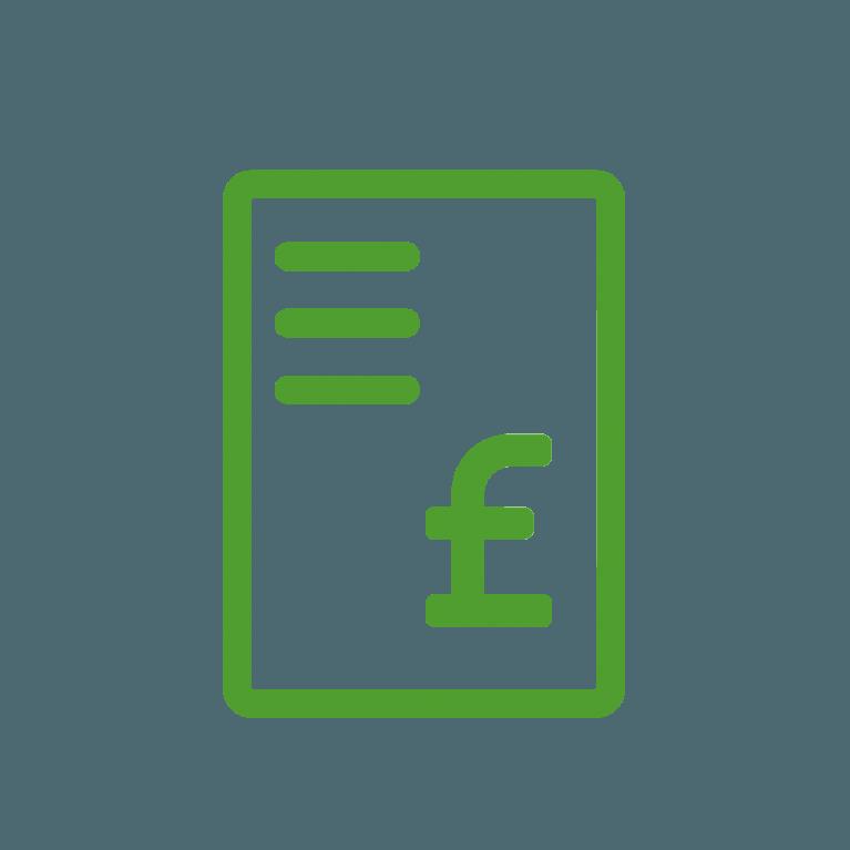 Government incentive icon