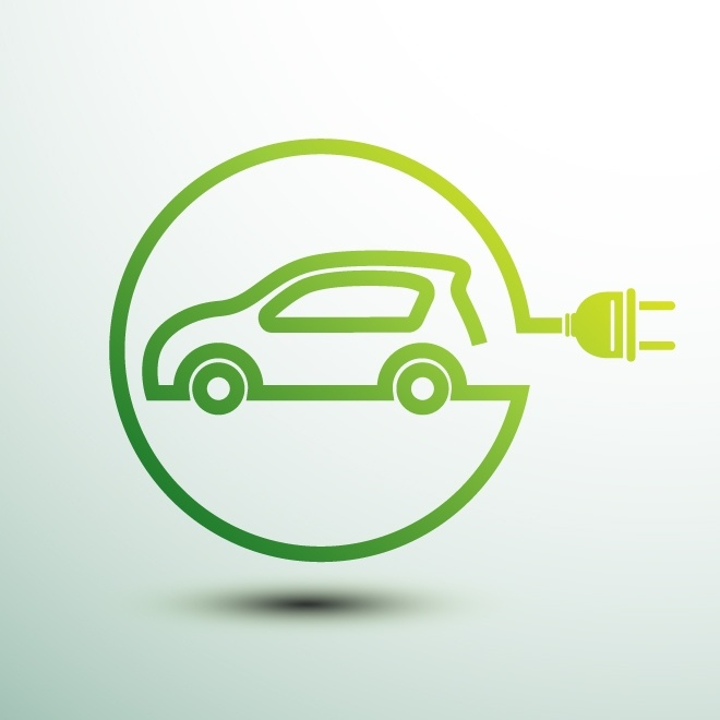 Tariff guide electric car icon