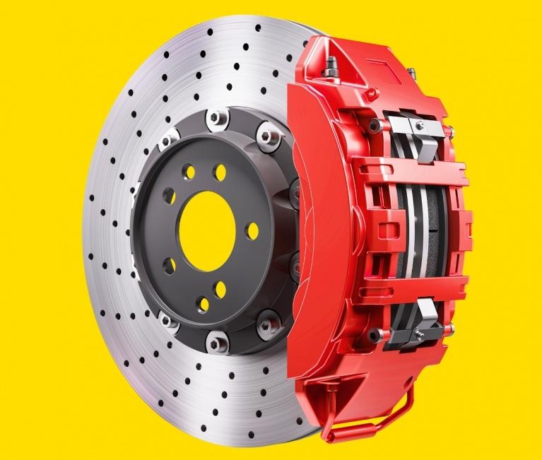 Graphic showing electric car regenerative braking