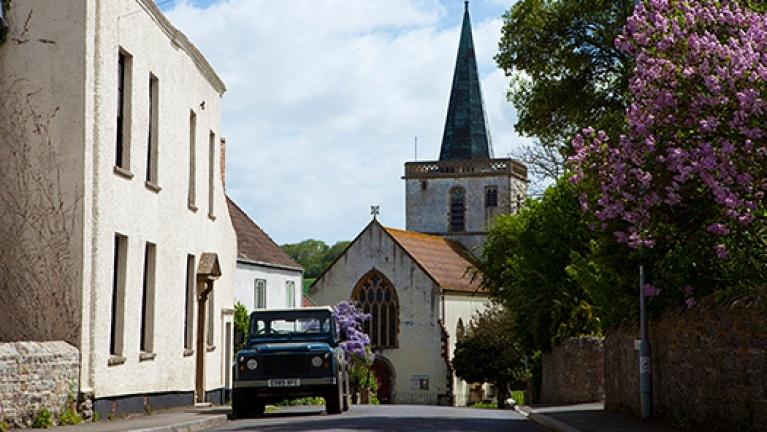Stogursey village