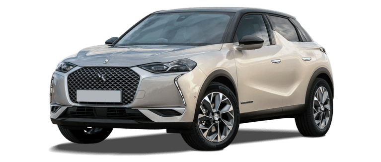 DS3 crossback e-tense front three quarter shot