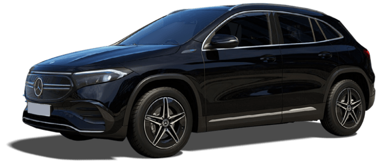 Mercedes EQA AMG Line in black