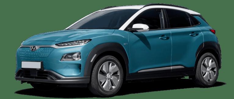 hyundai kona electric in blue 982 x 418