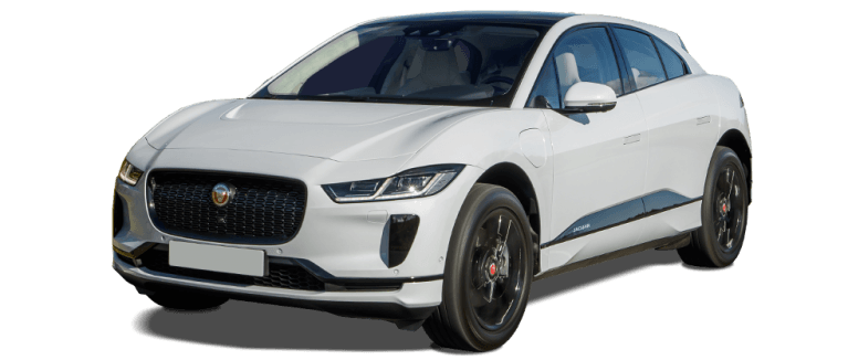 jaguar IPace in White 982 x 418