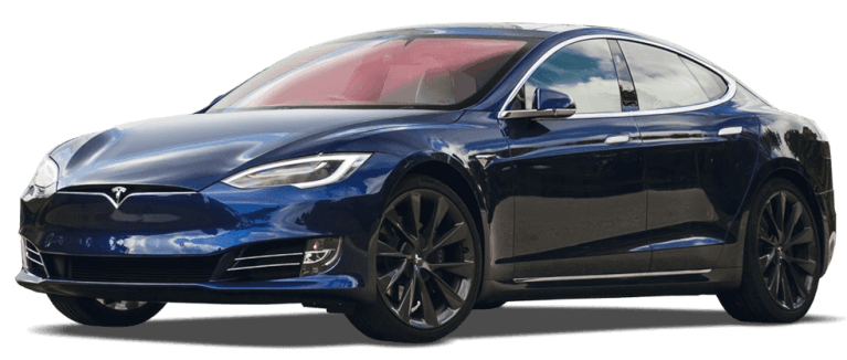 telsa model s loong range in blue 982x418