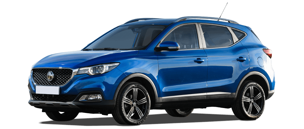 mg zs electric in blue 982x418