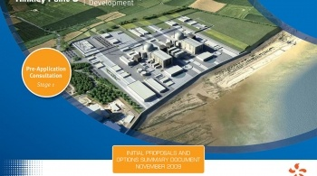 Front cover of the Hinkley Point C consultation document
