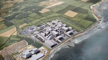 Proposed layout of Hinkley Point C