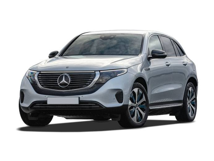mercedes EQC 400 Sport in grey