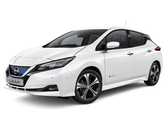 Nissan Leaf N-Connecta in Arctic White