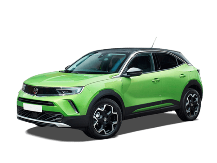 Vauxhall Mokka-e in green
