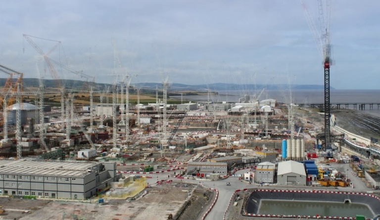 Watch video: Hinkley Point C progress time lapse 2016 to 2020