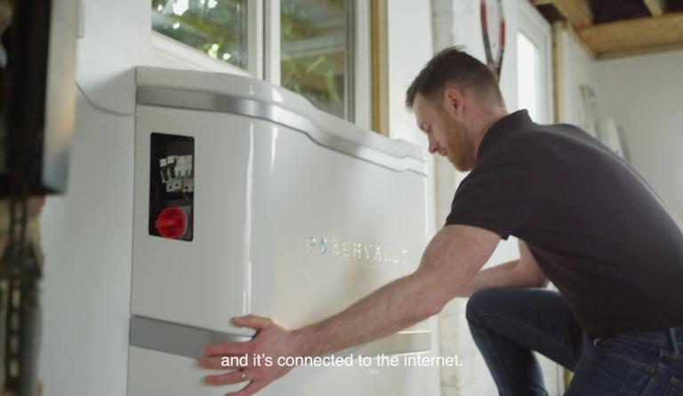 Watch video: Powervault 3 - home solar battery