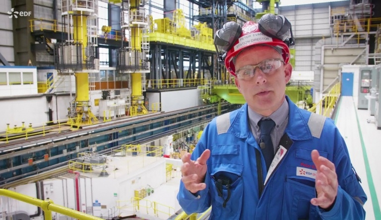 Watch video: Take a look around Hinkley Point B nuclear power station with Station Director Peter Evens