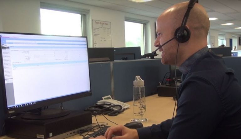 Watch video: What's it like to work at the EDF call centre in Doxford, Sunderland?