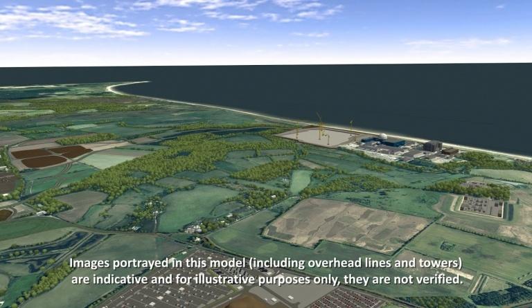 Watch video: Sizewell C | Stage 4 CGI | Main site development