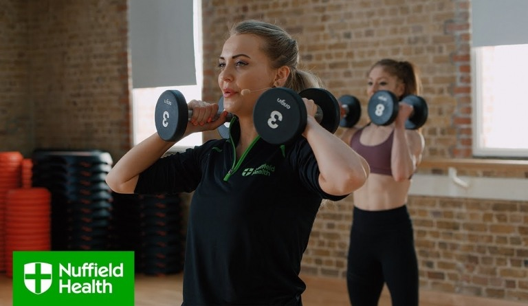 Watch video: Pilates at Home - Nuffield Health