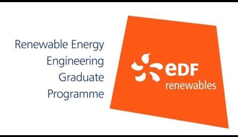 Watch video: Engineering graduate jobs in renewable energy - EDF careers