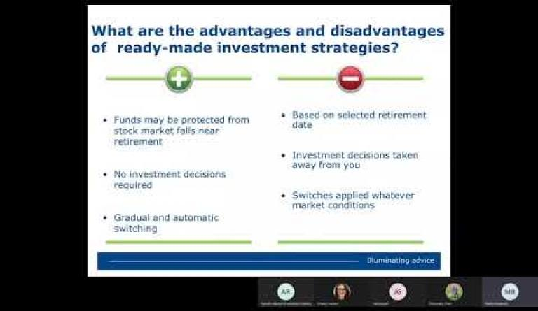 Watch video: Investments Focused